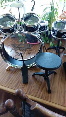 Toy Drum Set For Children 11 Piece Kid S Musical Instrument Drum