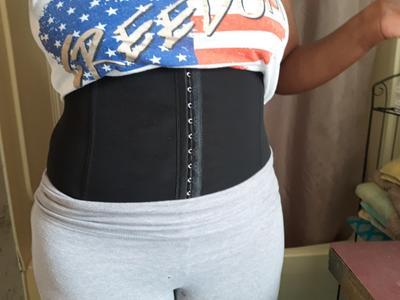 98e984dd836 Ekouaer - Workout Waist Trainer Corset Waist Cincher Tummy Shaper Girdle 6  Hooks - Walmart.com