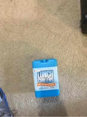 Bentgo Ice Lunch Chillers Ultra-Thin Ice Packs 4 Pack Blue Container Storage New