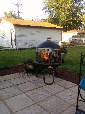 Landmann Heatwave Outdoor Fire Pit And Cooking Grate Walmart Com Walmart Com