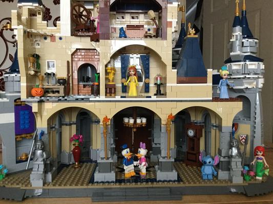LEGO Castle The Disney Castle 71040 - Walmart com