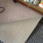 Mainstays Faux Sisal Olefin High Low Loop Tufted Area Rug