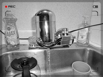 pur advanced faucet water filter, fm-3700b, chrome - walmart.com