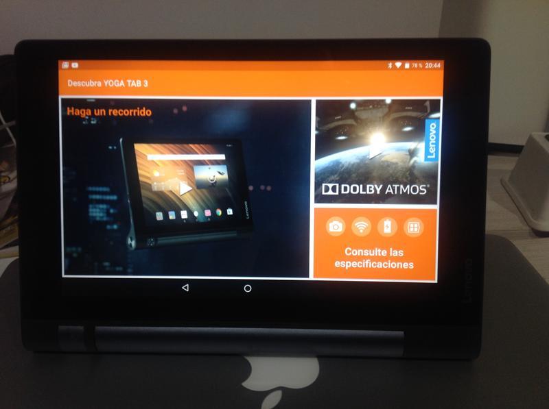 Lenovo Yoga Tab 3 - HD 8