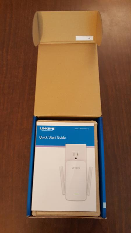 Linksys RE6400 Dual-Band Wi-Fi Range Extender (AC1200)