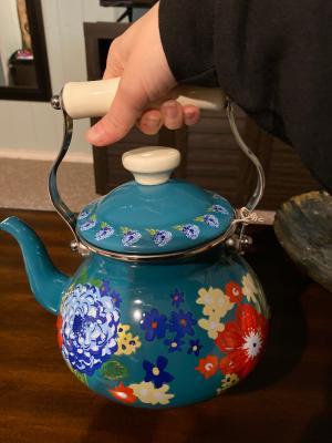 Tea Pot Large 3D And Tea Bag Charm Only No Chain