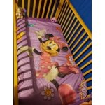 Disney Minnie Mouse 4-Piece Toddler Bedding Set Fluttery ...