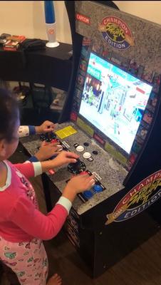 Street Fighter 2 Arcade Machine, Arcade1UP, 4ft - Walmart com