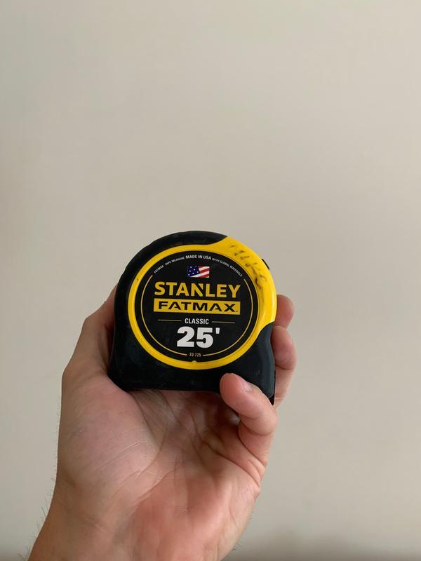 Black STANLEY FMHT36318-0 FLEX/ÓMETRO 5M FATMAX