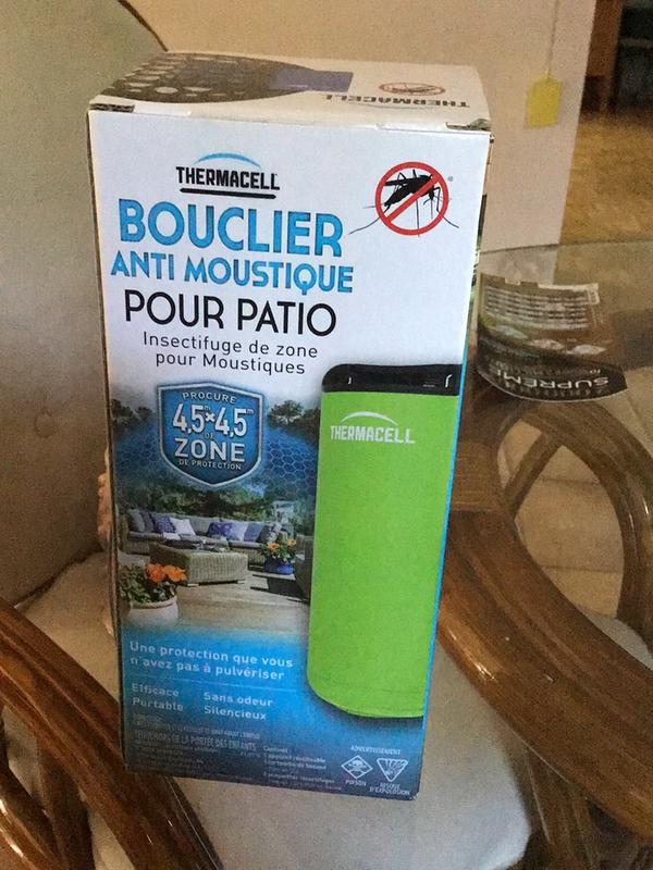 Terrific Thermacell Patio Shield Mosquito Repeller Graphite 12 Hours Of Spray Free Mosquito Repellent Download Free Architecture Designs Scobabritishbridgeorg