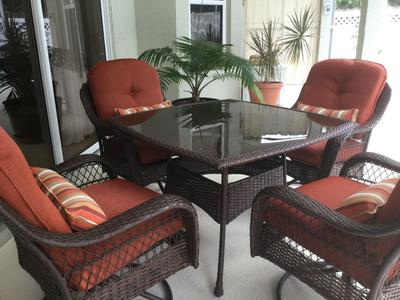 Better Homes And Gardens Azalea Ridge Outdoor Lounge Wicker Chairs Set Of 4 Brown