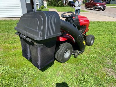 42 46 In 2 Bin Lawn Mower Bagger Walmart Com Walmart Com