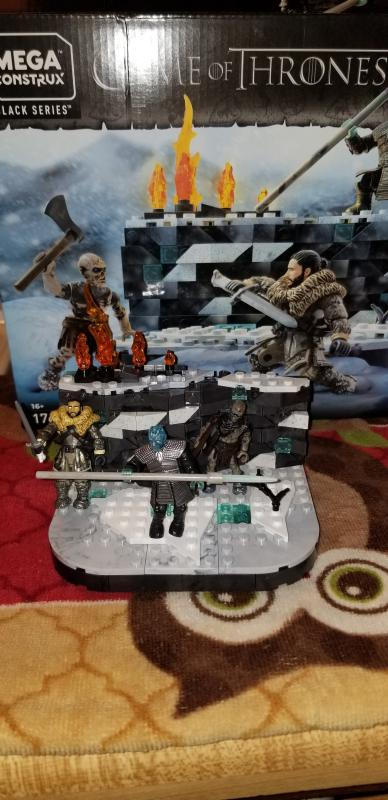 Mega Construx Game of Thrones Battle Beyond The Wall Building Construction Set