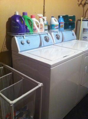 Laundry Shelf For Over Washer Or Dryer