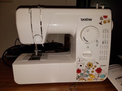 Brother 40 Stitch Sewing Machine JX2540 Walmart Gorgeous How To Setup A Brother Jx2517 Sewing Machine