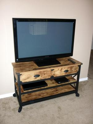 Better Homes Gardens Rustic Country Tv Stand For Tvs Up To 52 Pine Finish