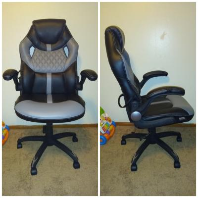 Wondrous True Innovations Racing Style Gaming Chair Contrasting Cjindustries Chair Design For Home Cjindustriesco