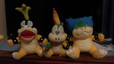 Little Buddy Super Mario Series Ludwig Von Koopa 7 Plush