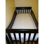 Kolcraft Pediatric 800 Crib And Toddler Mattress Extra Firm Waterproof Non Toxic Aqua Sweet