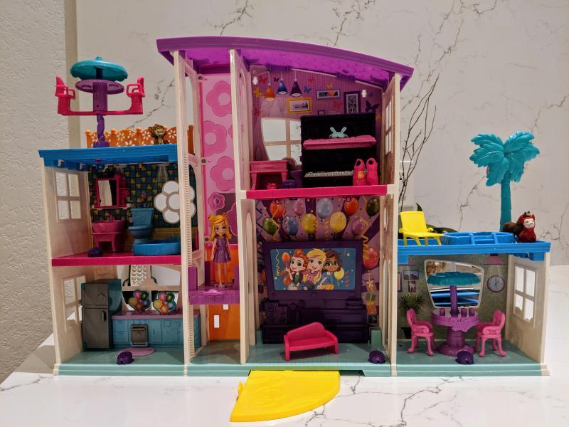 Polly Pocket Poppin Party Pad