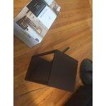 Mainstays Black Shelf Floor Lamp Walmart Com