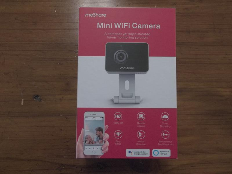 MeShare MS003C-4 1080p Mini Wireless Two-way Audio Camera 4-Pack