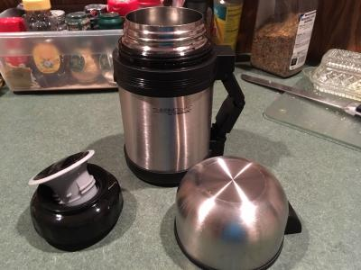 Thermocafe by Thermos 1.3 Quart 1.2 L Isolation Sous Vide Food /& Beverage Bouteille