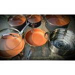 Gotham Steel Hammered Collection 10 Piece Premium Cookware