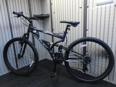 26 Hyper Havoc Full Suspension Men S Mountain Bike Black Walmart Com