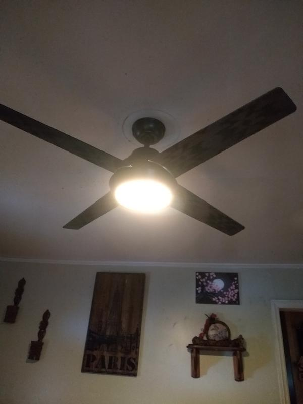 Hunter Pendleton 54 Led Pendleton 54 4 Blade Indoor Ceiling Fan Walmart Com Walmart Com
