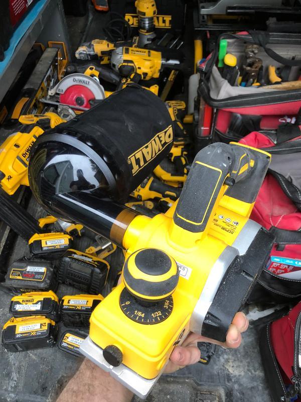 DeWalt OEM N455893 replacement planer dust bag DCP580B Power Tools ...