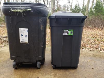 Ecoark 45 Gallon Wheeled Trash Can Walmart Com Walmart Com