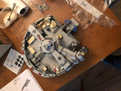 Lego Star Wars The Rise Of Skywalker Millennium Falcon 75257 Walmart Com Walmart Com