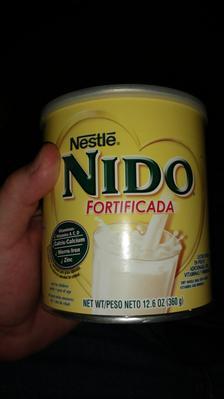 NIDO Fortificada Dry Milk 56 3 oz  Canister - Walmart com