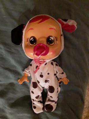 FREE Shipping! Cry Babies Dotty Doll