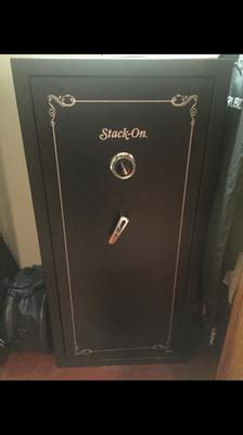 Stack-On 22 Gun Safe with Combination Lock SS-22-MB-C Matte Black