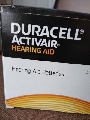 picture about Duracell Hearing Aid Batteries 312 Coupons Printable titled Duracell listening to help batteries measurement 312 (80 pack)