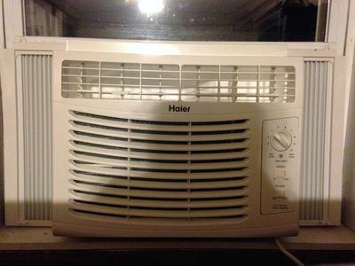 Haier 5,000 BTU Window Air Conditioner, 115V, HWF05XCR-L on