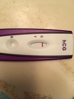 Equate First Signal One Step Pregnancy Test 1 Count Walmart Com
