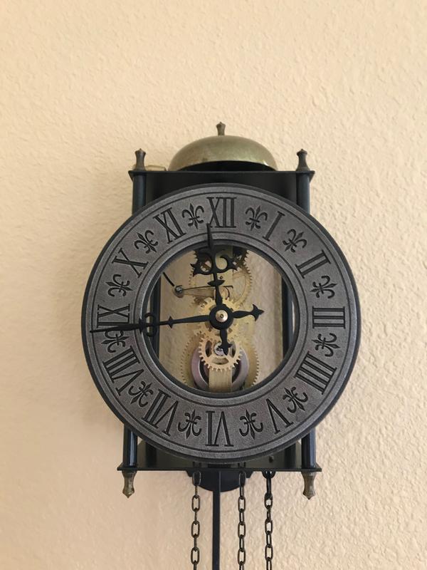 Design Toscano The Templeton Regulator Wall Clock Walmart Com Walmart Com