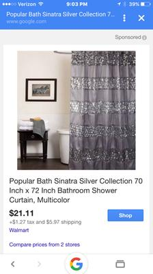 Popular Bath Sinatra Silver Collection