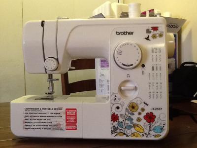 Brother 40 Stitch Sewing Machine JX2540 Walmart Delectable How To Setup A Brother Jx2517 Sewing Machine