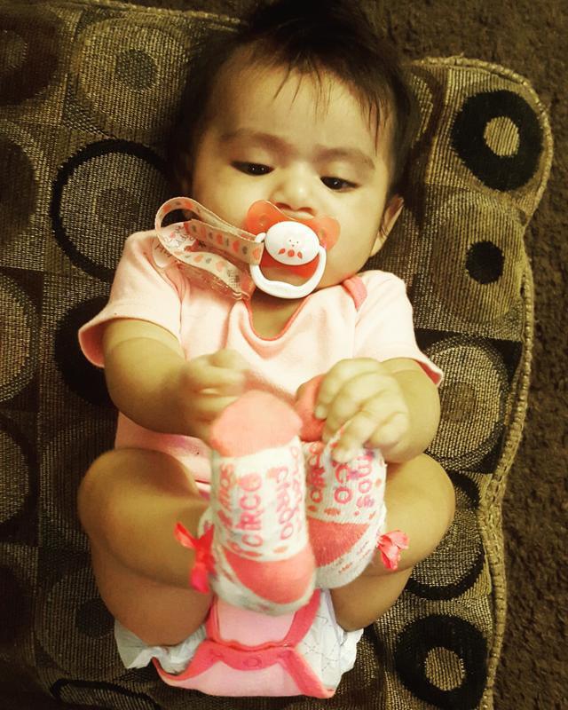 DETOA Baby Dummy Clip Red
