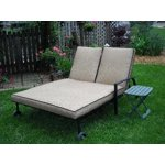 Mainstays Braddock Heights II Double Chaise Lounge, Seats ...