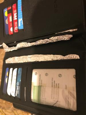 0386ddf086 Men's 3 folds High Quality Large Section Wallet Black