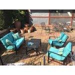 Mainstays Rockview 4 Piece Patio Conversation Set Seats 4