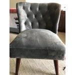 Novogratz Vintage Tufted Accent Chair Multiple Colors