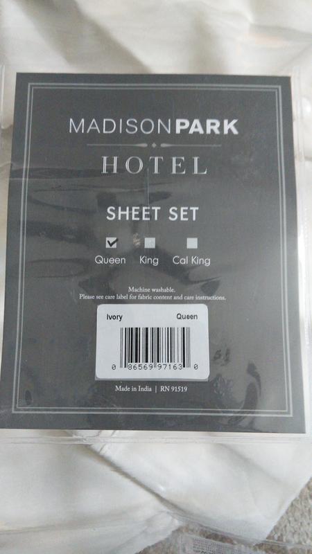 Comfort Classics 800 Thread Count, Madison Park Bedding Rn 91519