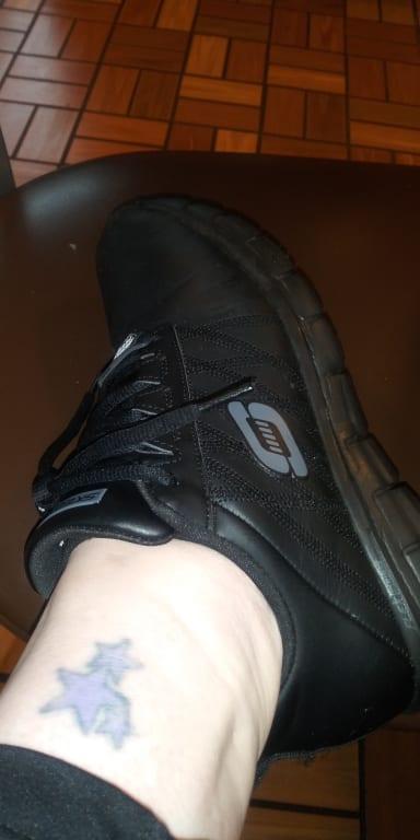 Track Erath Slip Resistant Work Shoe