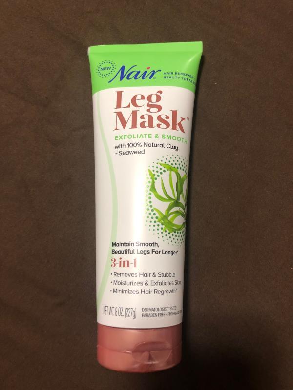 Nair Hair Remover Beauty Treatment Seaweed Leg Mask 8 0oz